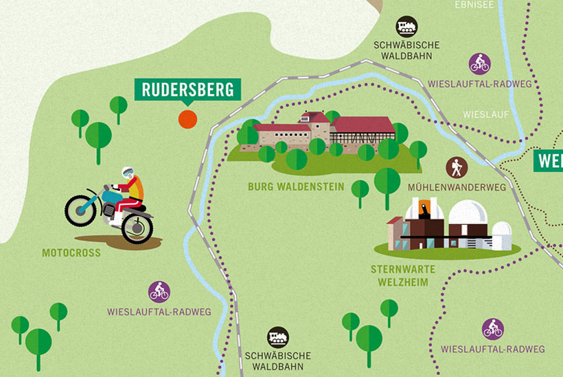 Landluft Landkarten Onlyfortomorrow Design Direction